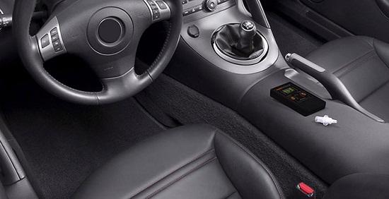 """Компактный """"AlcoHunter Professional X"""" легко возить с собой в автомобиле и использовать по мере необходимости"""