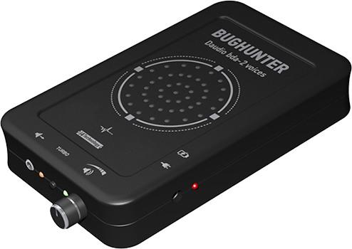 Передняя боковая панель устройства для подавления любых микрофонов