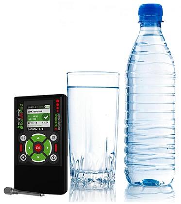 Без специального прибора только по внешнему виду качество обычной питьевой воды определить невозможно