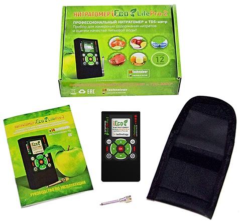 Прибор поставляется в картонной коробке в комплекте со всем необходимым