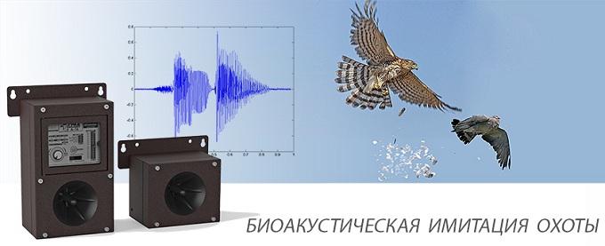Звучание работающего устройства вызывает у птиц естественное чувство страха перед хищниками и активирует у них инстинкт самосохранения
