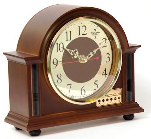 """Индикатор поля """"BugHunter CL-01"""", встроенный в часы, отличается стильным видом и отлично впишется в интерьер офиса или квартиры"""
