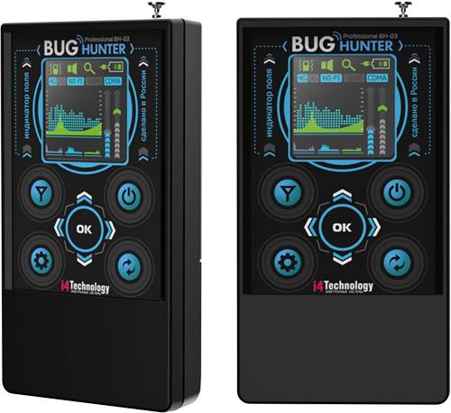 """Оцените стильный дизайн и эргономику детектора жучков """"BugHunter Professional BH-03"""""""