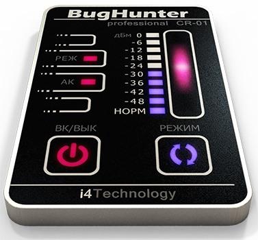 Сенсорное управление, яркий дизайн и TOUCH-панель выделяют антижучок BugHunter CR-1 среди аналогов