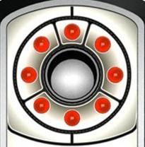Объектив детектора окружён светодиодами излучателя