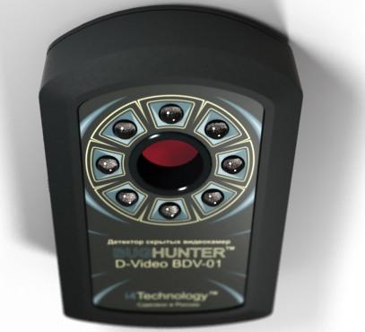 Внешний вид обнаружителя скрытых видеокамер BugHunter Dvideo Эконом: фото 2