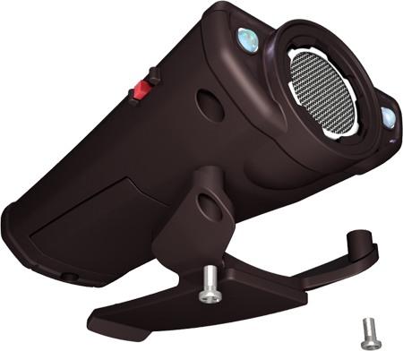 Инновационный ультразвуковой отпугиватель собак Собак.нет Вспышка+: установка клипсы